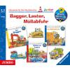 Hörbuch Cover: Bagger, Laster, Müllabfuhr