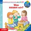 H�rbuch Cover: Was essen wir?