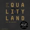 Hörbuch Cover: QualityLand (schwarze Edition)