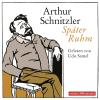 H�rbuch Cover: Sp�ter Ruhm