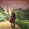 H�rbuch Cover: Menu d'amour